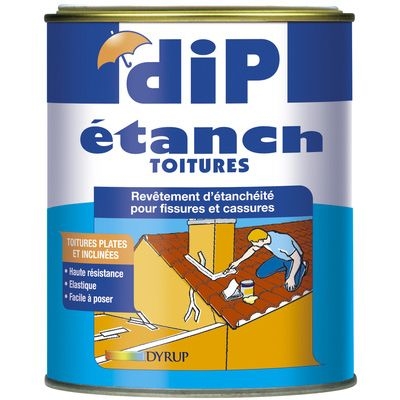 Dip anti infiltrations paille 0 75l etanch it imperm abilisation u - Dip etanch anti infiltration ...