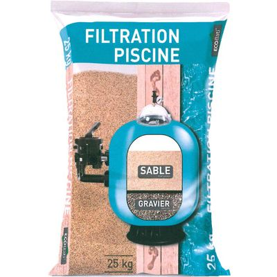 SABLE FILTRATION PISCINE 25 KG