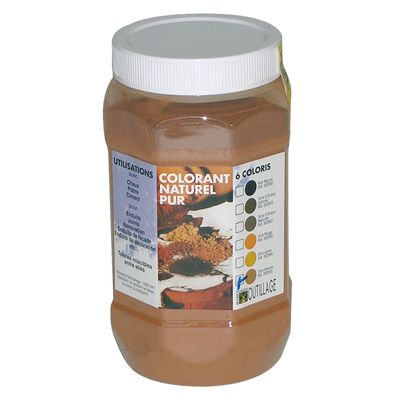 COLORANT NAT. 1L OCRE ROUGE