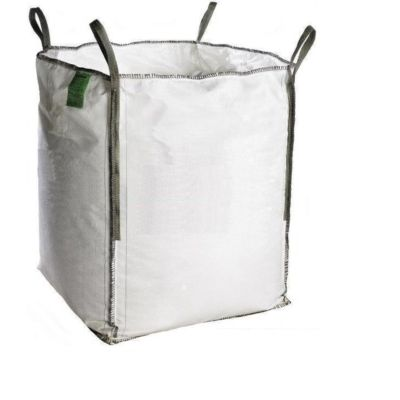 BIG BAG ECO CHANTIER 1.5 TONNE-1M3 SANS IMPRIME 95X95X110 NON REUTILISABLE