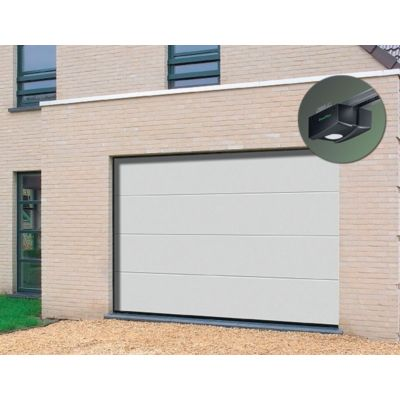Porte de garage sectionnelle premontee 20 42 mm et sa for Porte de garage 60 mm
