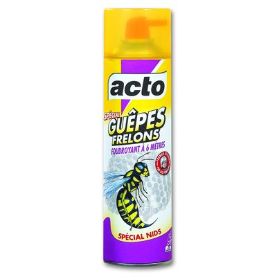 ACTO GUEPES FRELONS AEROSOL 500ML SPECIAL NIDS