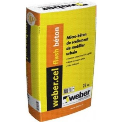 WEBER.CEL FLASH BETON SAC 25KG