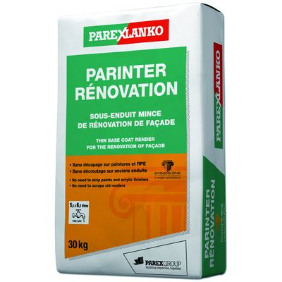 PARINTER RENOVATION G00 BLANC NATUREL SAC 30KG
