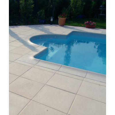 Dalle laporte ton pierre 50x50x2 tradition union for Fenetre pvc 50x50