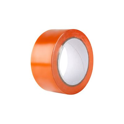RUBAN ADHESIF VINYLE ORANGE 33X50MM