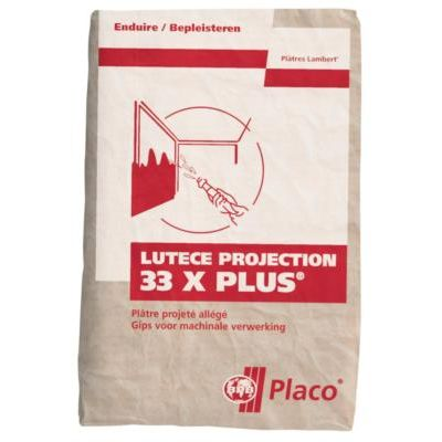 PLATRE LUTECE PROJECTION 33X+ SAC 33KG