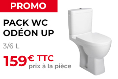 Pack WC Odéon Up